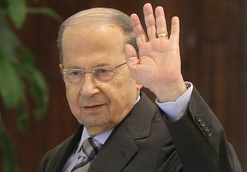 تظاهرات مردمی در حمایت از رئیس جمهور لبنان