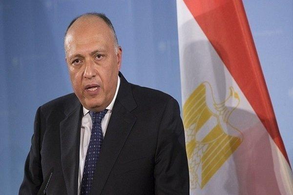 وزیر خارجه مصر: باید به نقش مخرب ترکیه در منطقه خاتمه داده گردد