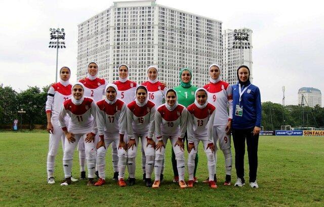 پیروزی پر گل دختران فوتبالیست ایران برابر لبنان، صعود ایران در دستان کره جنوبی
