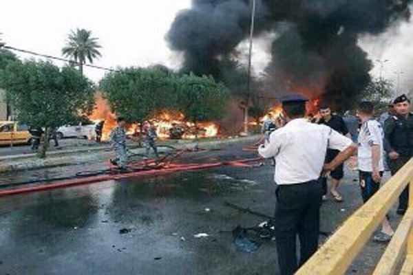 4 زخمی در انفجار شرق بغداد