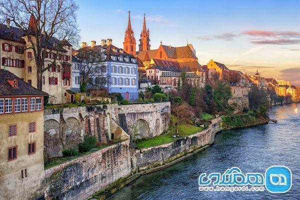 آشنایی کوتاه با دیدنی ترین شهرهای سوئیس