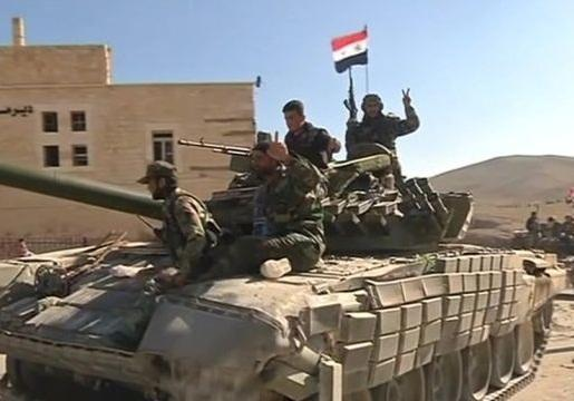 اسارت 17 تروریست به دست ارتش سوریه ، کشف سلاح های غربی در مناطق آزادشده