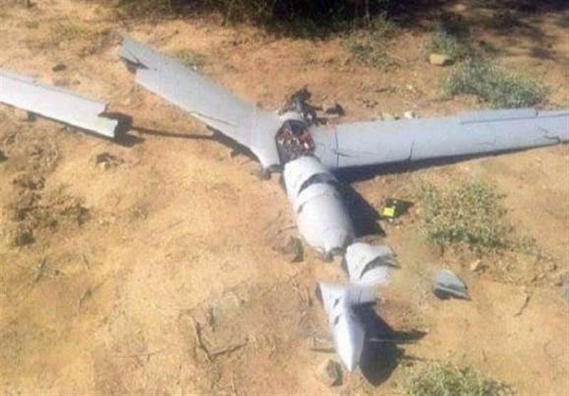 سرنگونی هواپیمای جاسوسی متجاوزان در الحدیده یمن