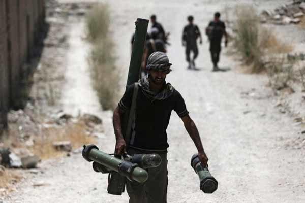 یورش تروریستها به مواضع ارتش سوریه در غرب حلب