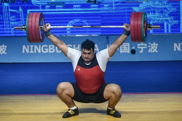 جدیدترین رنکینگ المپیکی وزنه برداران، حضور داودی و هاشمی جزو هشت نفر برتر اوزان خود