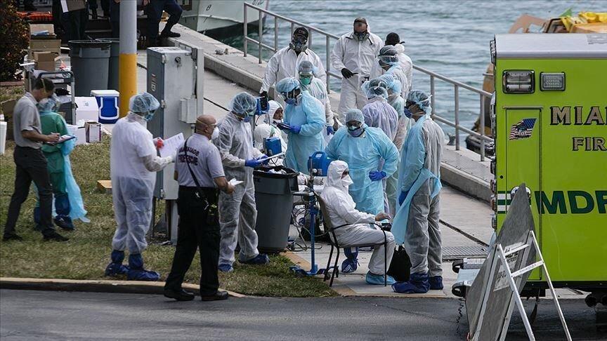 وزارت بهداشت آمریکا از ابتلای 2 میلیون تن به کرونا اطلاع داد