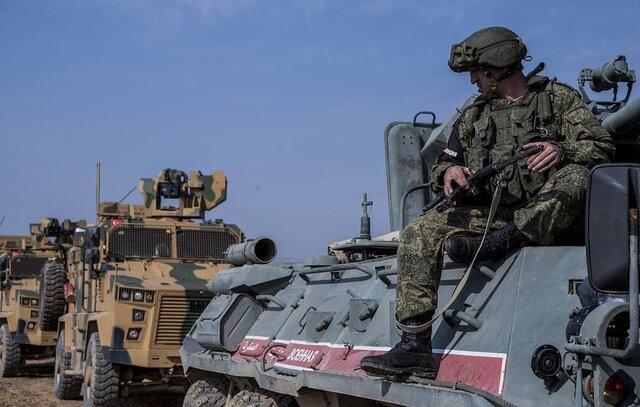 انجام چهارمین گشت مشترک نیروهای روسیه و ترکیه در ادلب