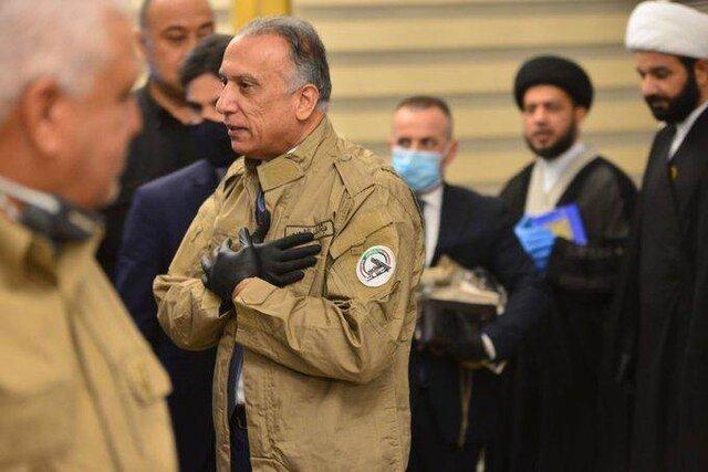 الکاظمی حشد شعبی و سازمان مبارزه با تروریسم را دور هم جمع کرد