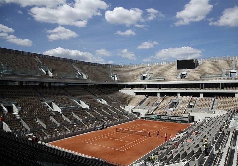 محدودیت حضور تماشاگران در تورنمنت تنیس رولان گاروس