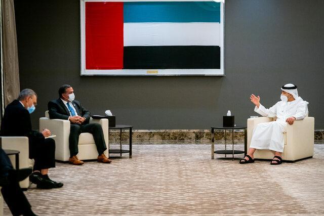 گفت وگوی وزیر خارجه امارات با یک مقام آمریکایی درمورد ایران