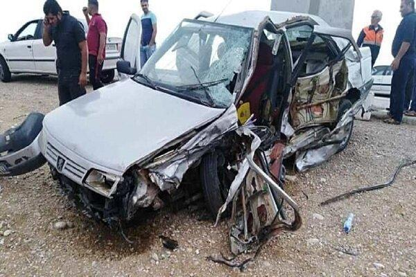 4 کشته و مصدوم در واژگونی خودرو در مسجدسلیمان