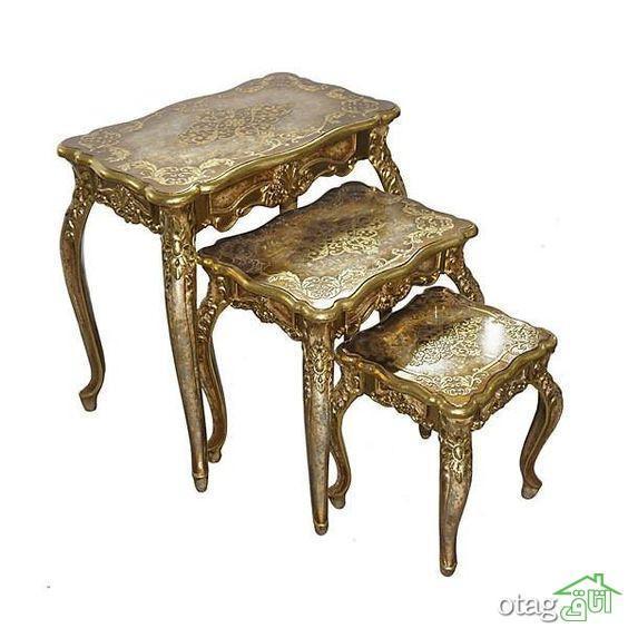 مدل های تازه میز عسلی سلطنتی در مقدار های تک و چندتایی