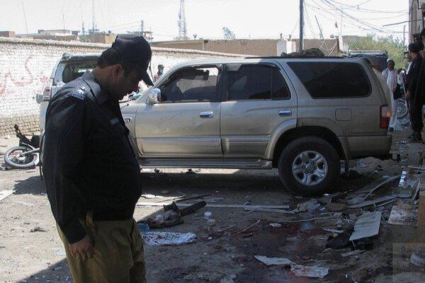 انفجار بمب در پاکستان، 6 نظامی کشته و زخمی شدند